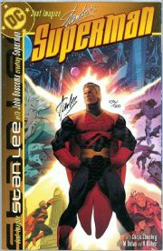 Just Imagine Stan Lee Creating Superman Dynamic Forces Signed Stan Lee DF COA Ltd 900 DC comic book